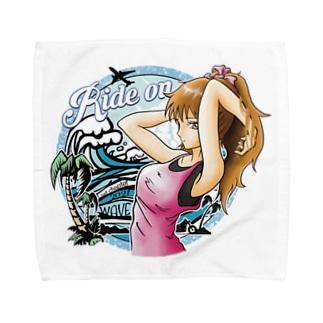 【ride on】ビーチガール Towel handkerchiefs
