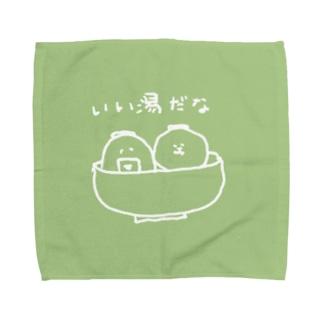 おにじりつみれの湯 Towel handkerchiefs