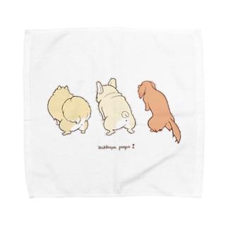 ウンチングスタイル4 Towel handkerchiefs