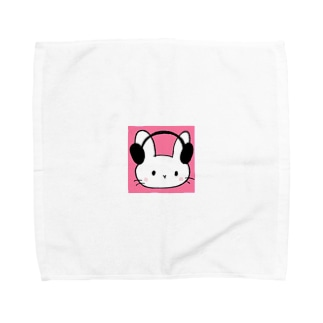 ASMRらびの、いつもあなたといっしょだよ♪グッズ Towel handkerchiefs
