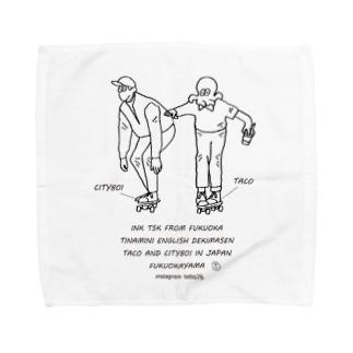 fukuokayama Towel handkerchiefs