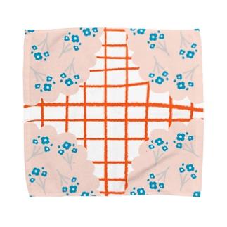 レトロレース Towel handkerchiefs