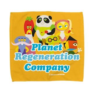 惑星再生カンパニー01 Towel handkerchiefs