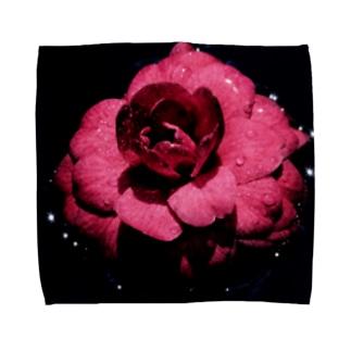 黒椿 Towel handkerchiefs