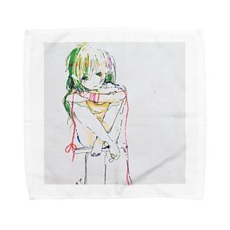 【試行錯誤。】 Towel handkerchiefs