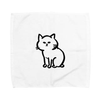 猫ちゃん Towel handkerchiefs