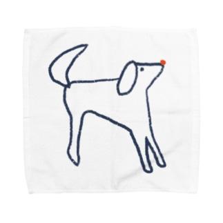 ラフな犬くん  Towel handkerchiefs