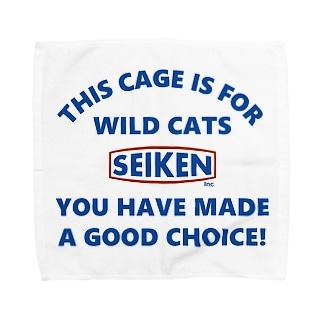 特定危険動物ゲージwild cats ① Towel handkerchiefs