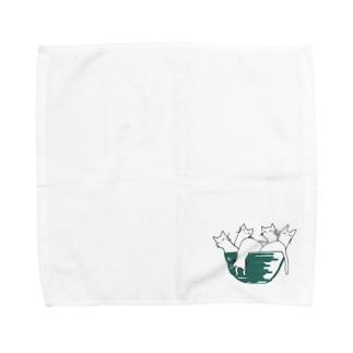 neko.in.don Towel handkerchiefs
