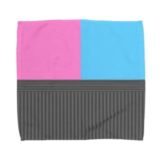 和柄(キラキラカラー) Towel handkerchiefs