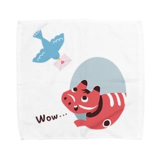 Spring news Towel handkerchiefs