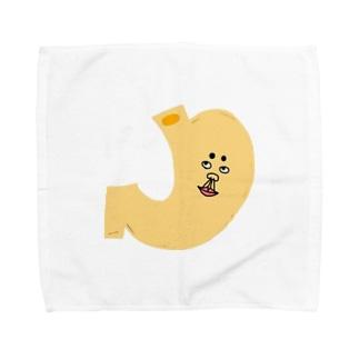 胃んどん Towel handkerchiefs