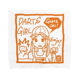 GAME ON! 【SPICY ORANGE】 Towel handkerchiefs