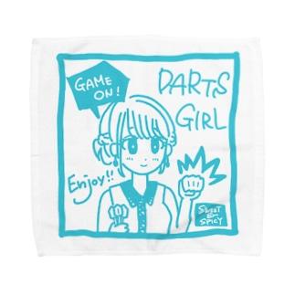 GAME ON! 【SWEET LIGHTBLUE】 Towel handkerchiefs