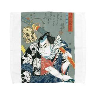 浮世絵 Towel handkerchiefs