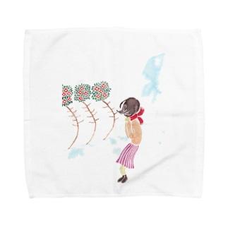寒春 Towel handkerchiefs