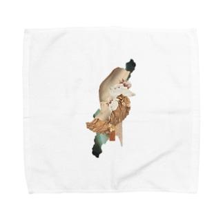 圧縮/限界 Towel handkerchiefs