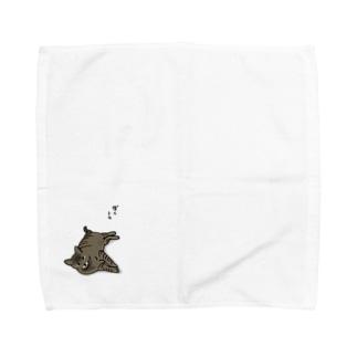 ぼくトラ Towel handkerchiefs