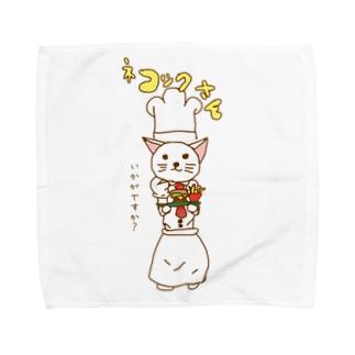 ネコックさんのネコックさん Towel handkerchiefs