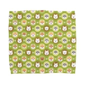 柴犬ざんまい Towel handkerchiefs