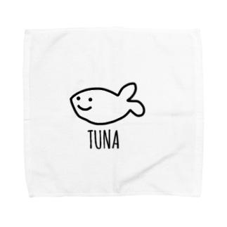 ツナ Towel handkerchiefs