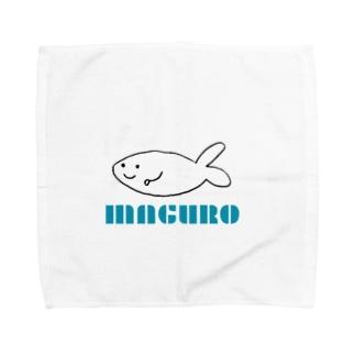 マグロ君 Towel handkerchiefs