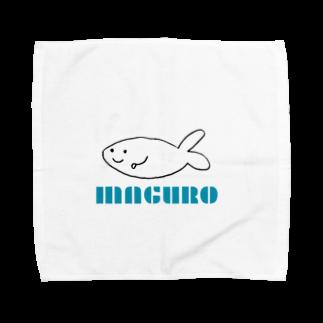 山崎のマグロ君 Towel handkerchiefs