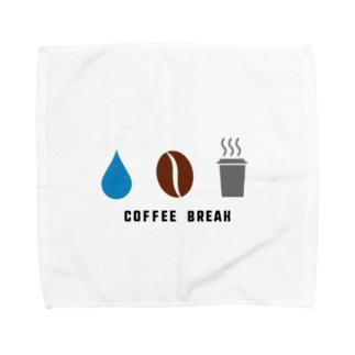 コーヒー Towel handkerchiefs