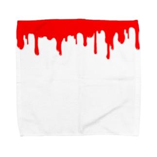 出血 Towel handkerchiefs