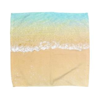 Island wave Towel handkerchiefs