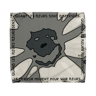 oka__のモノクロ Towel Handkerchief