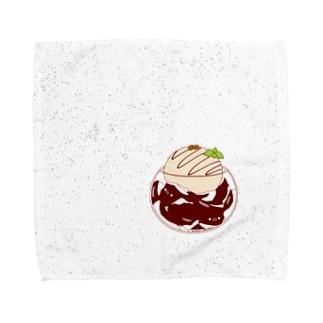 コーヒーゼリー Towel handkerchiefs