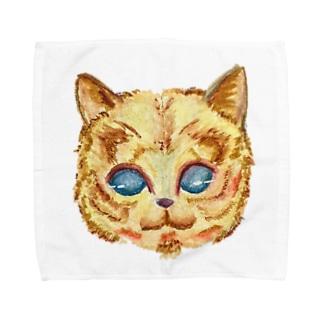 ネコ Towel handkerchiefs