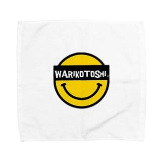 WARIKOTOSHIスマイル Towel handkerchiefs