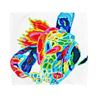 ある日の心 Towel handkerchiefs