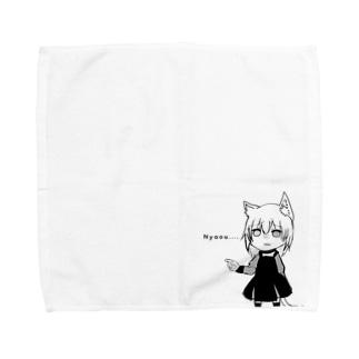 Nyaouのはんかち Towel handkerchiefs