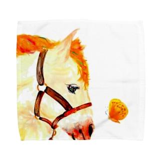 馬の布 Towel handkerchiefs