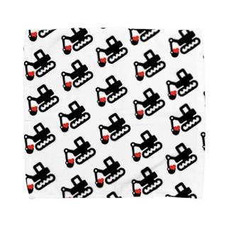 ハートユンボ 柄デザイン Towel handkerchiefs