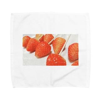さ ゑ ぴ い な っ つの🍓いちご姫 Towel handkerchiefs
