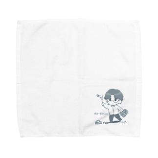 メガネのハンカチ Towel handkerchiefs