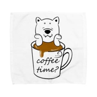 コーヒータイムしませんか? Towel handkerchiefs
