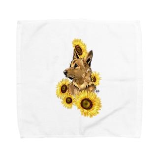 夏の午後 Towel handkerchiefs