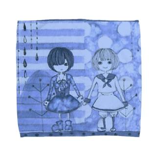 ネガとポジ Towel handkerchiefs
