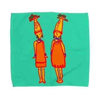 バオバブ族 Towel handkerchiefs