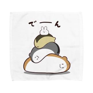 ハムスタ・タワー Towel handkerchiefs