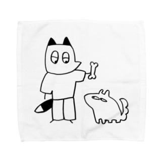 なげそうでなげない Towel handkerchiefs