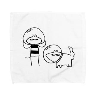 しゅっぱつじゅんび Towel handkerchiefs