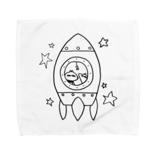 うちゅうりょこう Towel handkerchiefs