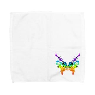 蝶 Towel handkerchiefs