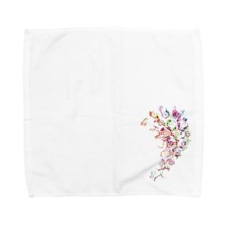 風流 Towel handkerchiefs
